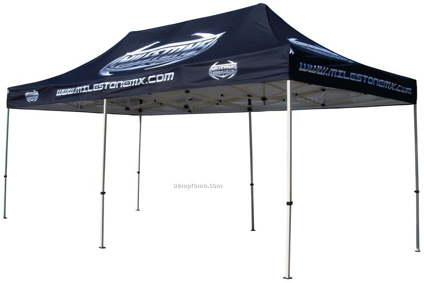 10x20 Pop Up Canopy Tent W Steel Frame Digital