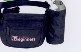 Fanny Pack W/ Bottle & Cell Phone Pouch (Blank)