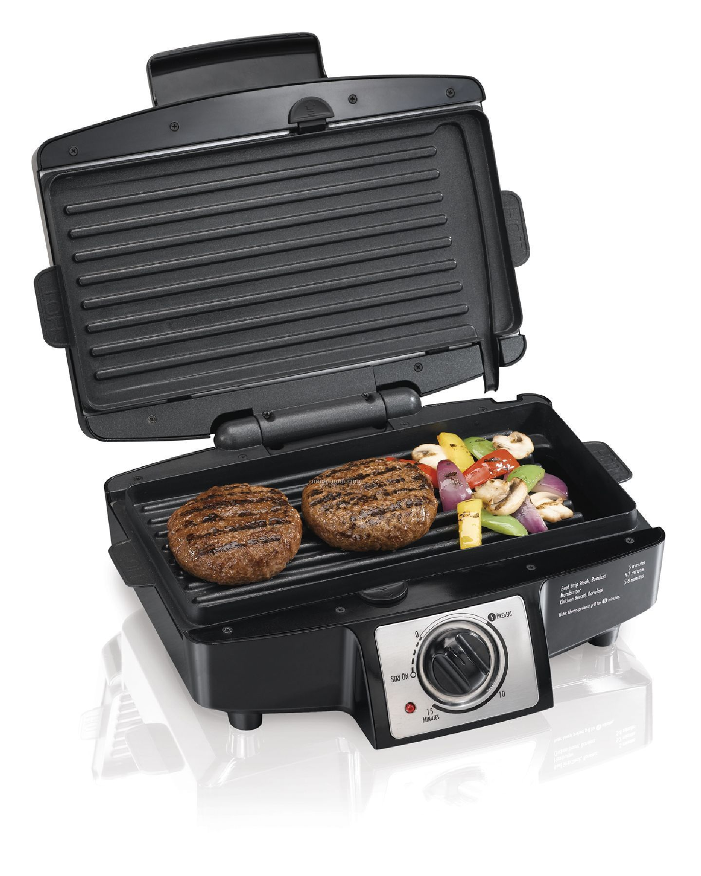 Hamilton Beach - Indoor Grills - Indoor Grill - Removable Plate