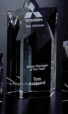 """Star Gallery Crystal Mega Star Award (8"""")"""