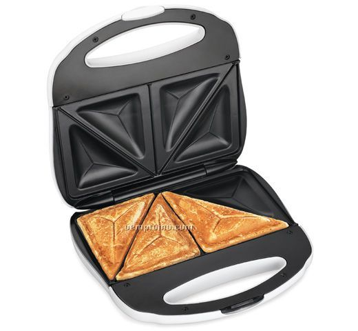 Hamilton Beach Sandwich Maker, 4 Sealed Sandwich Pockets