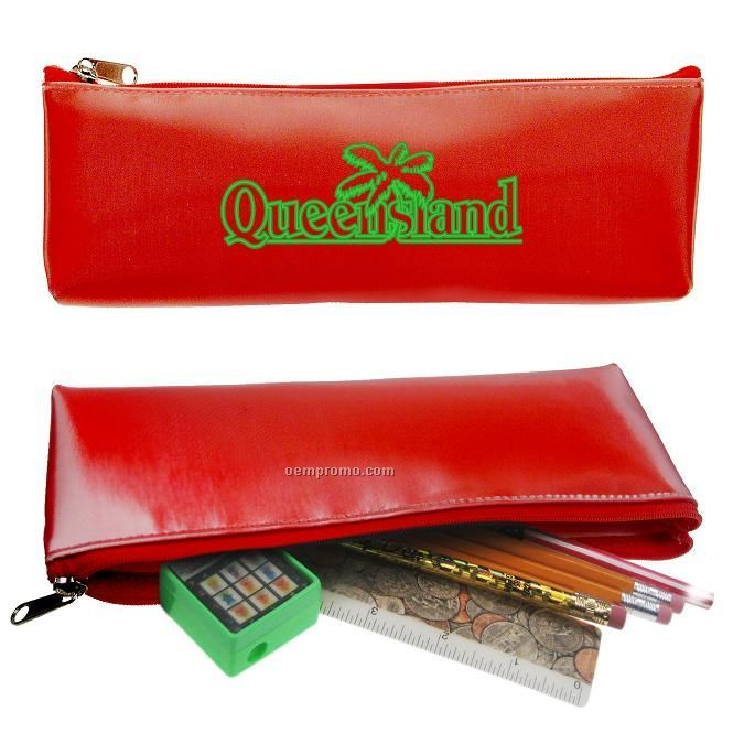 Pencil Case W/3d Lenticular Changing Color Effects (Custom)