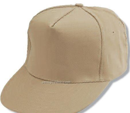 Adult Cotton Twill Golf Cap