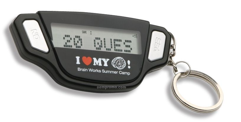 Brain Fitness Math Game W/Keychain
