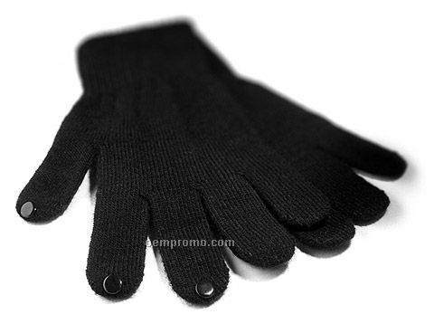 Touch Screen Gloves Dotted Pvc