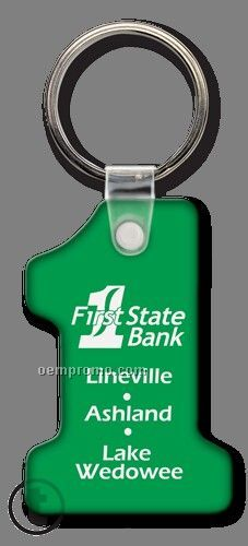 Sof-touch Original Number One Shape Key Tags