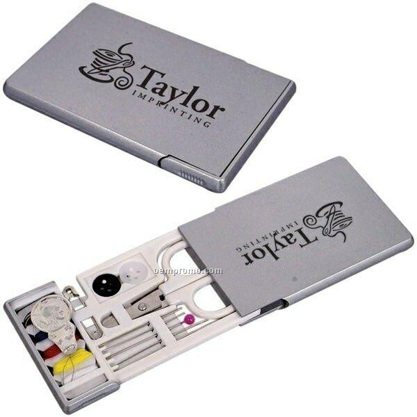 "Travel Sewing Kit (3.5""X2""X0.25"") (Printed)"