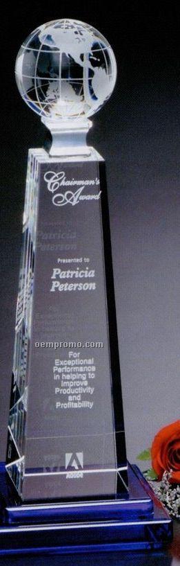 "Global Gallery Crystal Horizon Global Award (12"")"