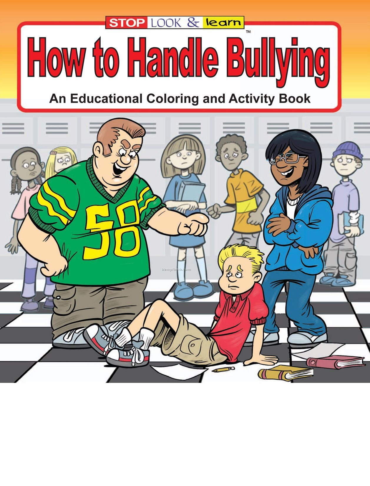 How To Handle Bullying Coloring Book Fun Pack