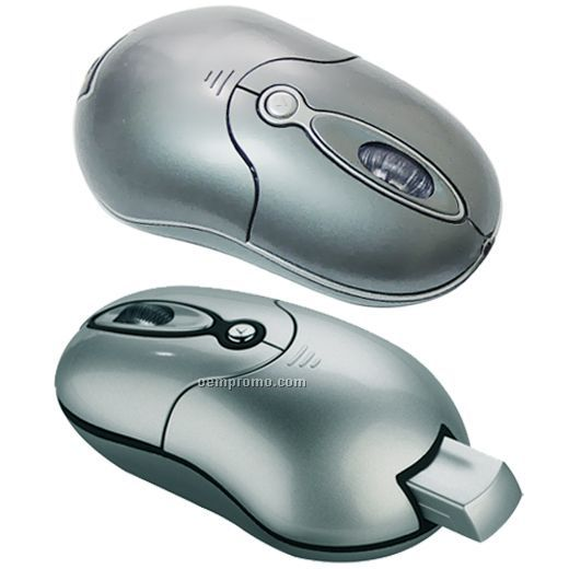 Mini Size Wireless Mouse With Tuck-in Receiver