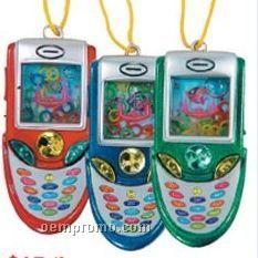 Cell Phone Water Game Necklaces Assortment (24 Pack)