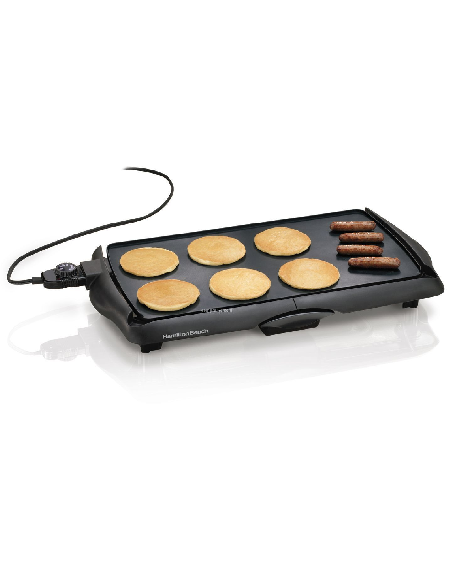 Hamilton Beach - Griddles - 200 Sq In Non-stick Griddle