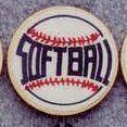 Medallions Stock Kromafusion - Mini Deal Insert Softball