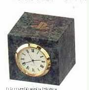 Green Marble Desk Accessories (Clock)