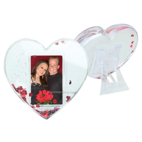 Heart Globe Picture Frame
