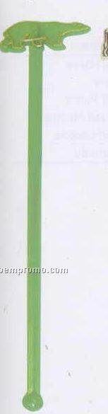 "7"" Stock Bear Stirrer (Blank)"