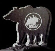 Acrylic Paperweight Up To 16 Square Inches / Bear 2