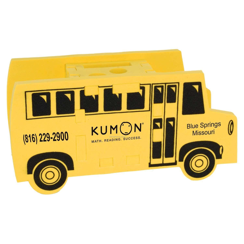 School Bus Foam Puzzle Organizer