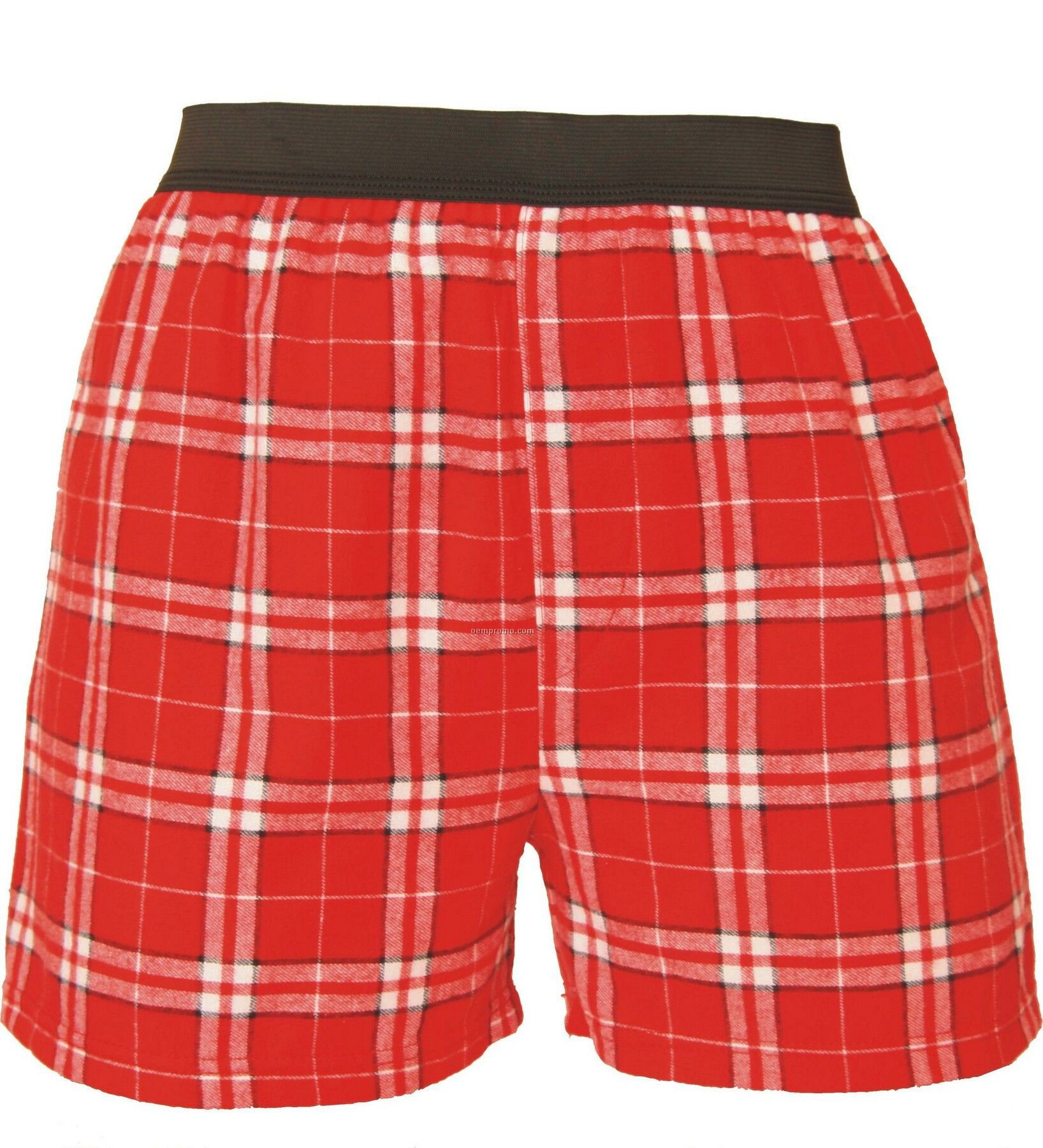Adult Red Plaid Classic Boxer Short