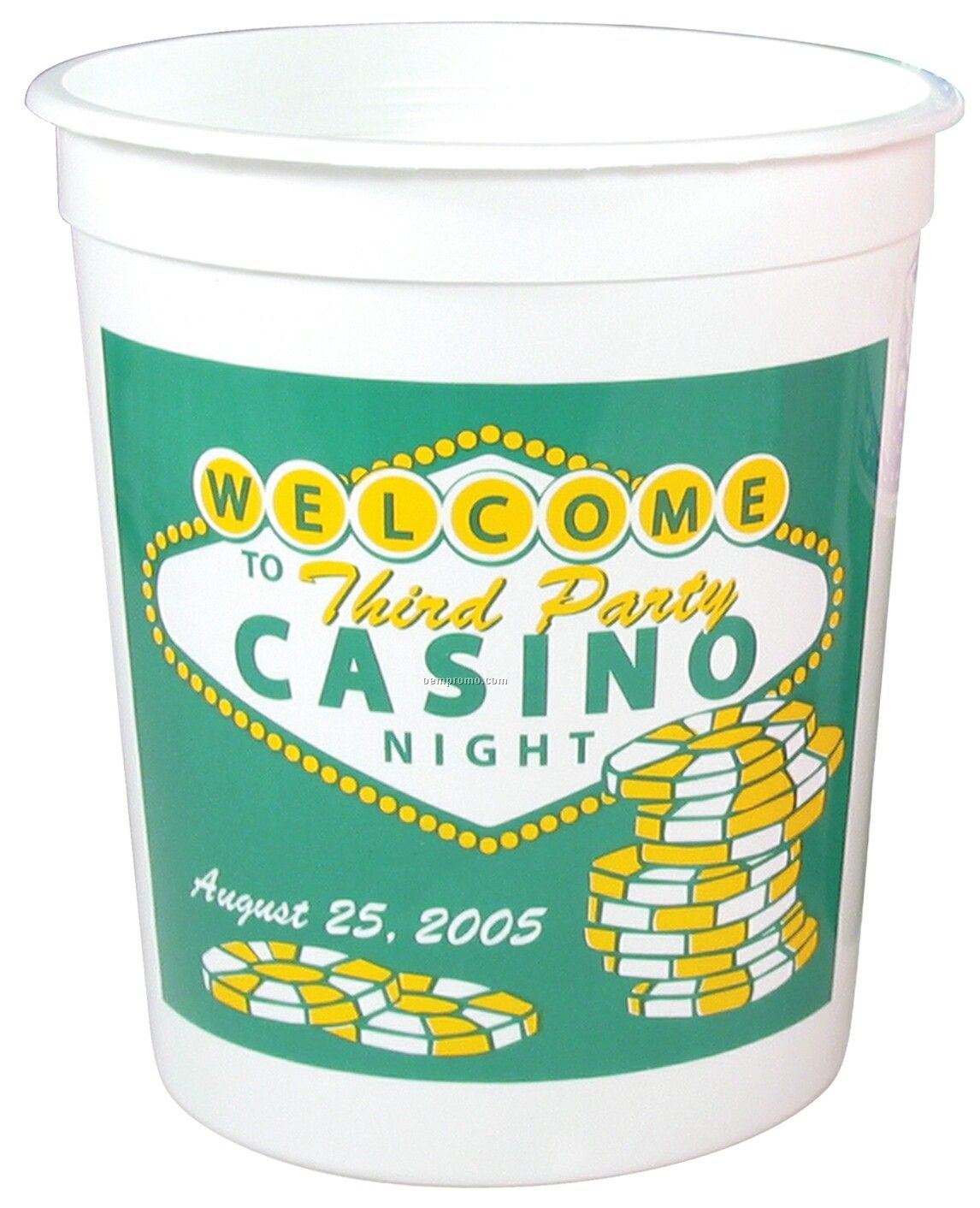 Casino Cup - Offset Printing (32 Oz.)
