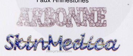 Faux Rhinestone Pins