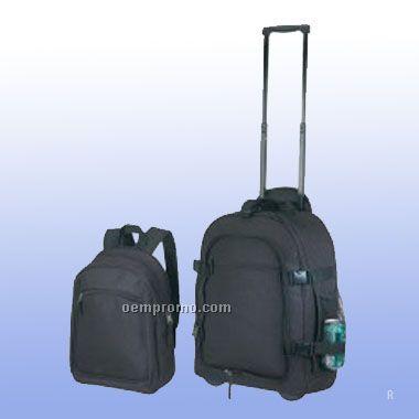Rolling Detachable Backpack