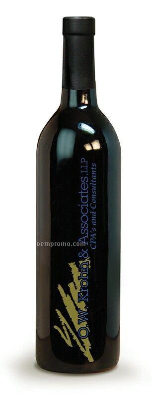 Cabernet / Chardonnay Or Champagne - 750 Ml (2 Color Etch)