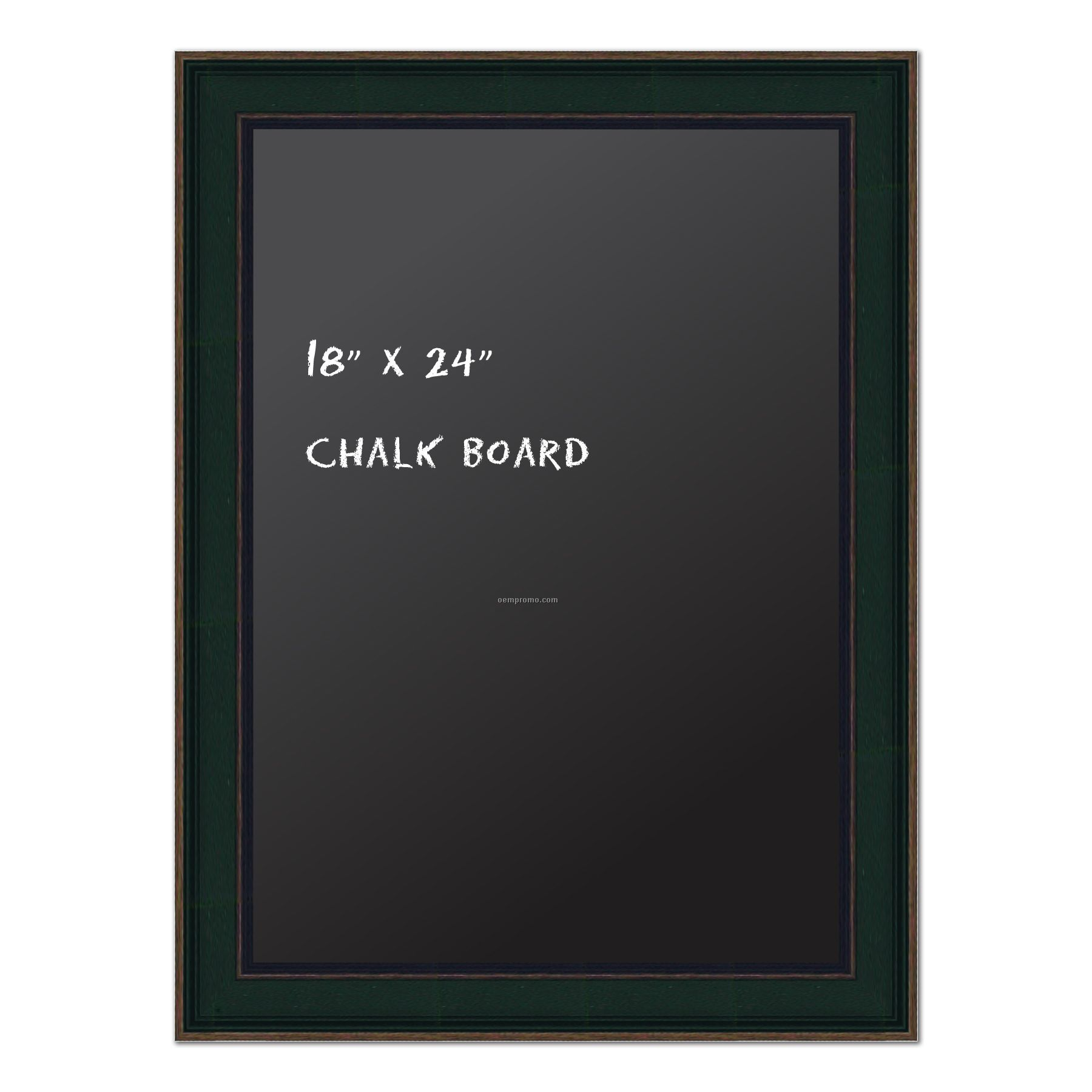 Chalk Board 18u0026quot; X 24u0026quot;. Real Wood Frame - Country Green Finish.,China ...