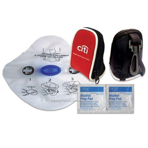 Cpr Kit W/Reusable Nylon Bag