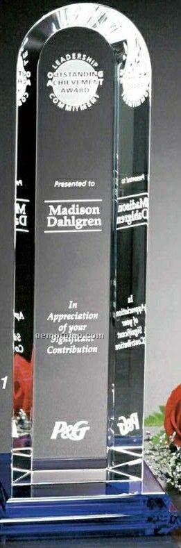 "Indigo Gallery Crystal Vision Award (9 1/2"")"