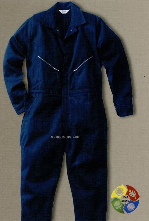 Walls Cotton Twill Non Insulated Coverall - Orange