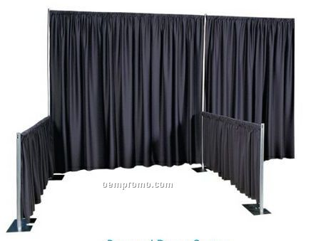 "95"" For 8'h Pole Twill Backdrop Drape"