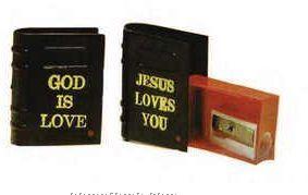 Bible Pencil Sharpener