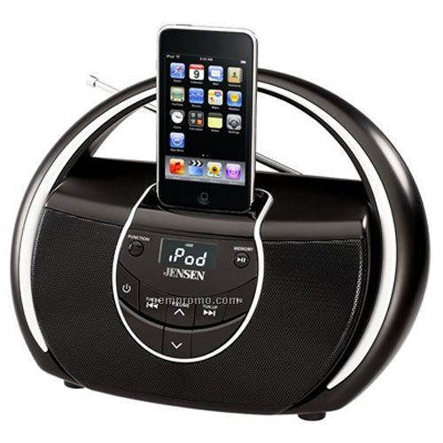Jensen Jiss100 Portable Docking Music System For Ipod