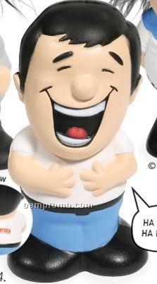 Laughing Man Stress Toy