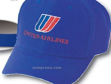 Unstructured Brushed Cotton Low Profile Cap