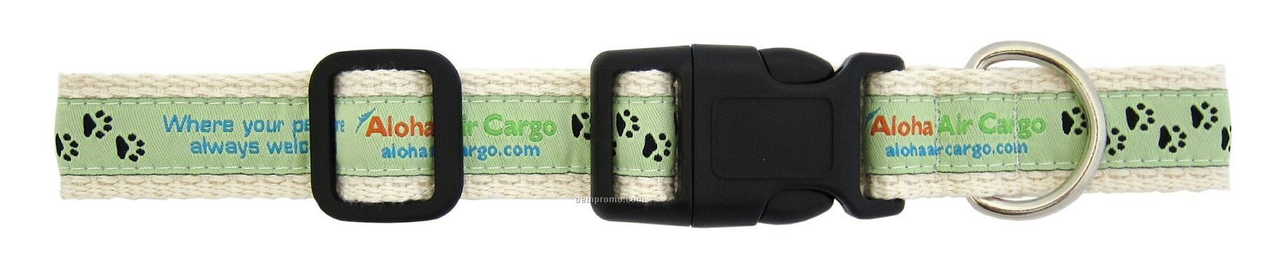 Woven Organic Pet Collar - Large (1