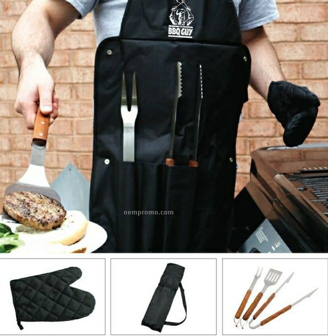 All-in-1 Bbq Set