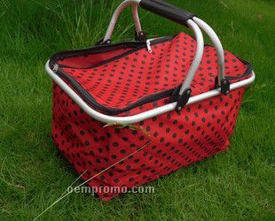 Foldable Picnic & Shopping Basket