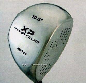 Jumbo 450 Cc Driver & Fairway Woods Golf Clubs W/ Steel Shaft