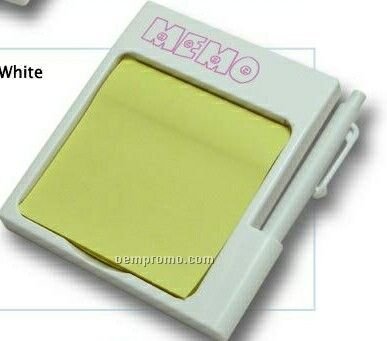 Magnetic Memo Holder With Pen