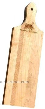 "Traditional French Bread Board (18""X5""X0.75"") Laser Engraved"