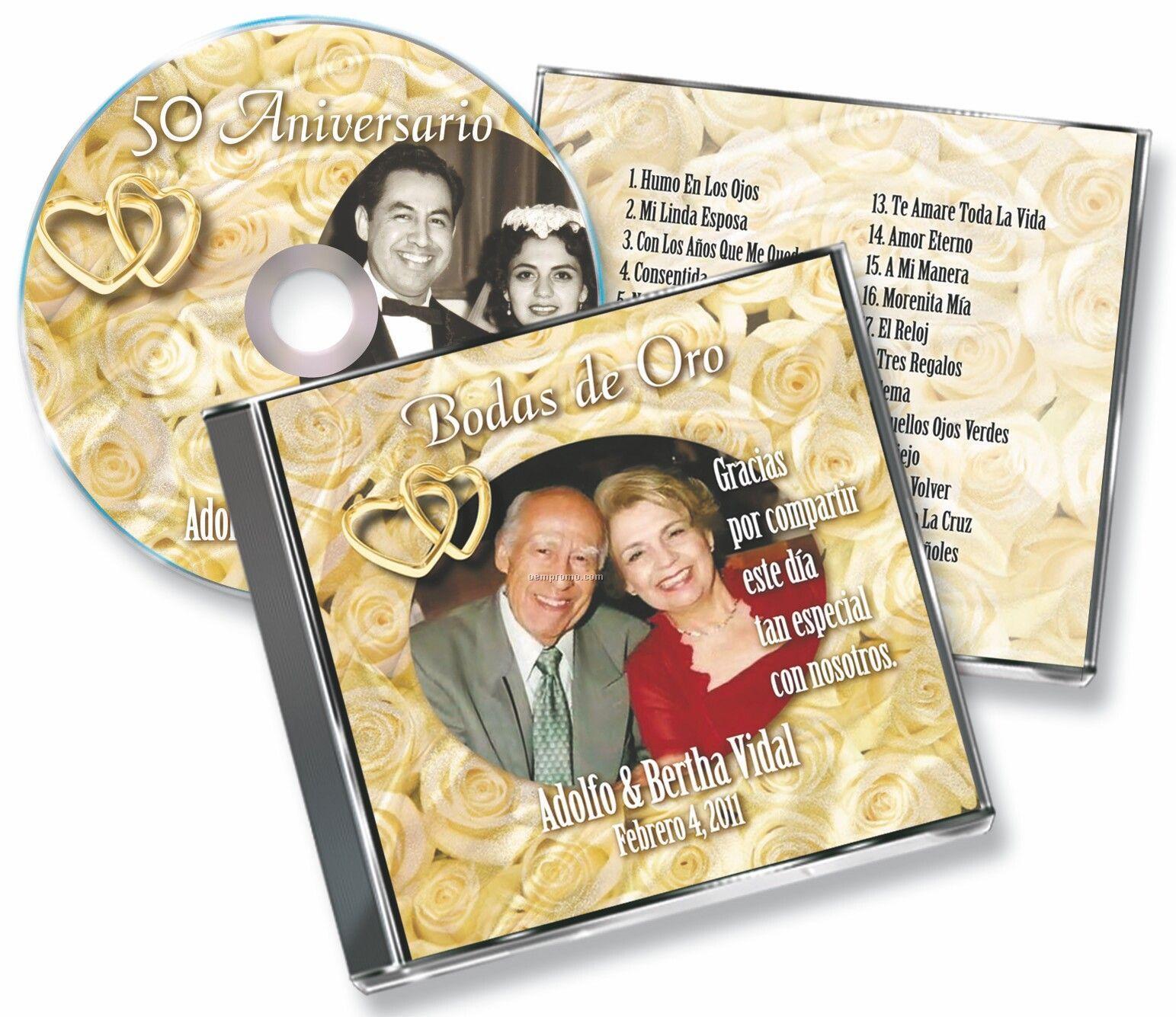 Media Keepsake Deluxe Jewel Case CD Package
