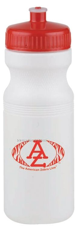 24 Oz. Bike Bottle - Poly-clear