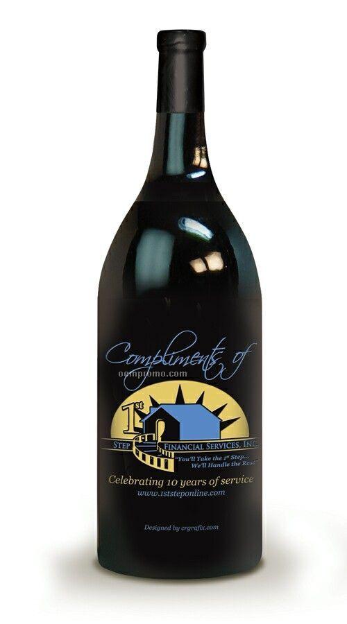 Cabernet / Chardonnay Or Champagne - 1.5 L (2 Color Etch)