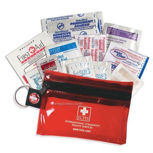First Aid Kit W/Pvc Bag
