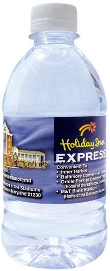 12 Oz Custom Label Bottled Water - Fob California - Nationwide Distribution