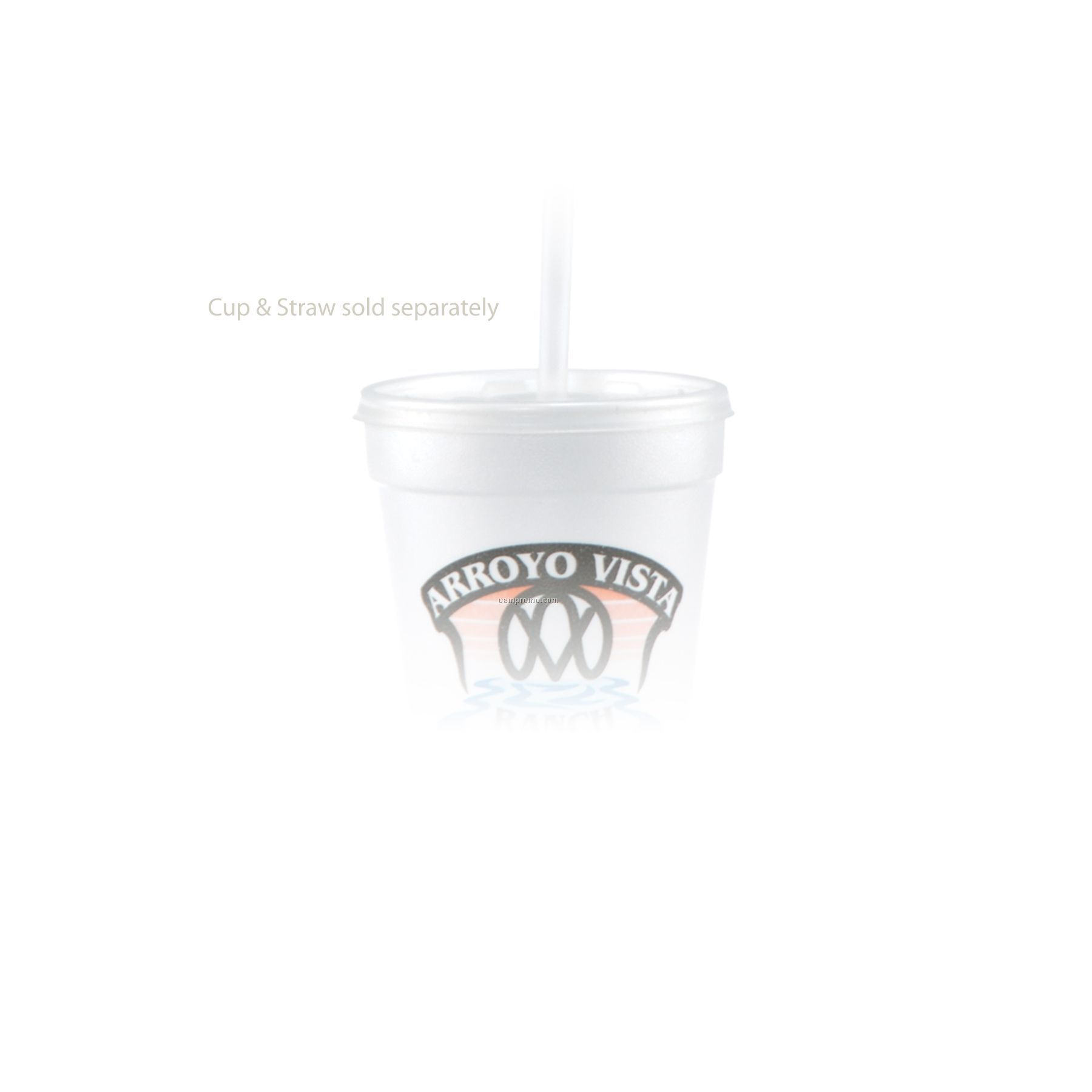 16/20 Oz. Straw Slot Lid - Frosted