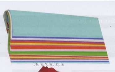 """20""""X30"""" Medley Quire Folded Wrapping Color Tissue Assortment Pack"""