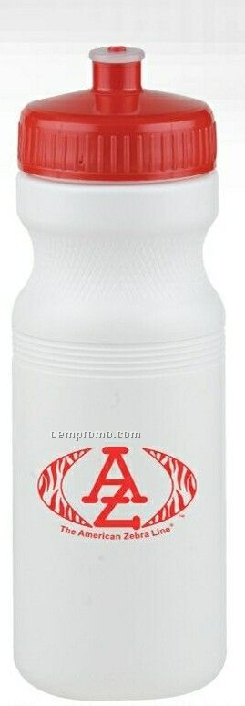 24 Oz. Bike Bottle - White